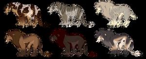 Feline Adopts (5/6 OPEN)