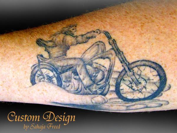 Custom Bike by SahajaFreed