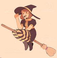 witch ochako by destroymuse