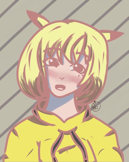 Pikachu Hooman by weeaboo-house