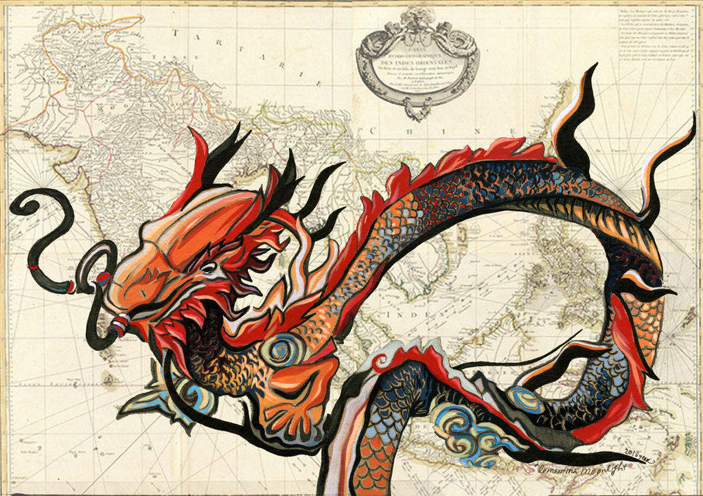 Vietnamese Dragon: Vietnamese Dragon By KlementinaMoonlight On DeviantArt