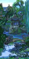 Yu Yuan Garden.