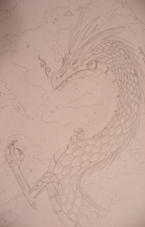 Winter Dragon by XenoZilla