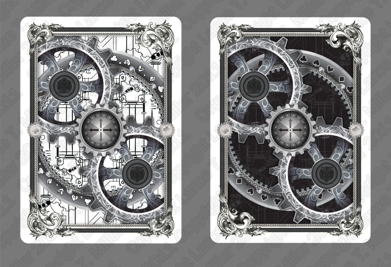 black and white edition bicycle actuators cards by multimiller on deviantart. Black Bedroom Furniture Sets. Home Design Ideas