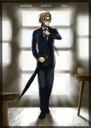 Manners Maketh Man by Arcsen