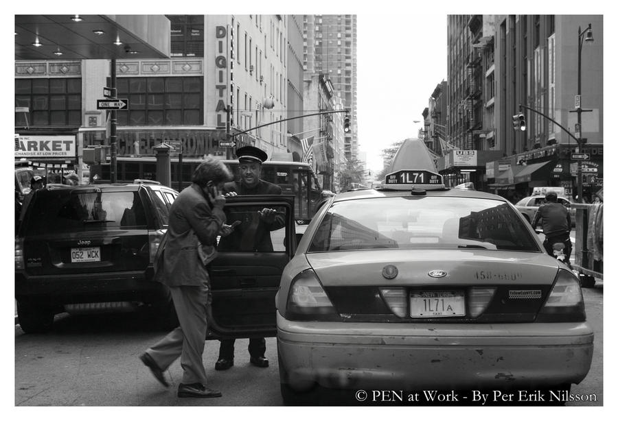 Your Yellow Cab Sir by PEN-at-Work