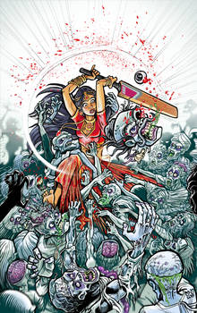 Aadhira Mohi against the zombies in india