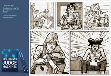 How Humans Judge Machines - MIT book ilustrations