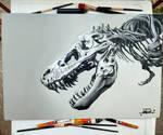 Dinosaur Acrylic Canvas