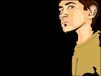 Self Portrait by ricosuave413