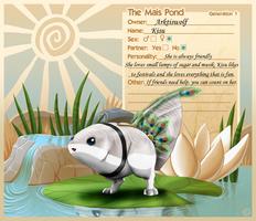my Mais Kisu by Arktiswolf-o
