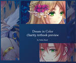 Dream in Color charity artbook preview