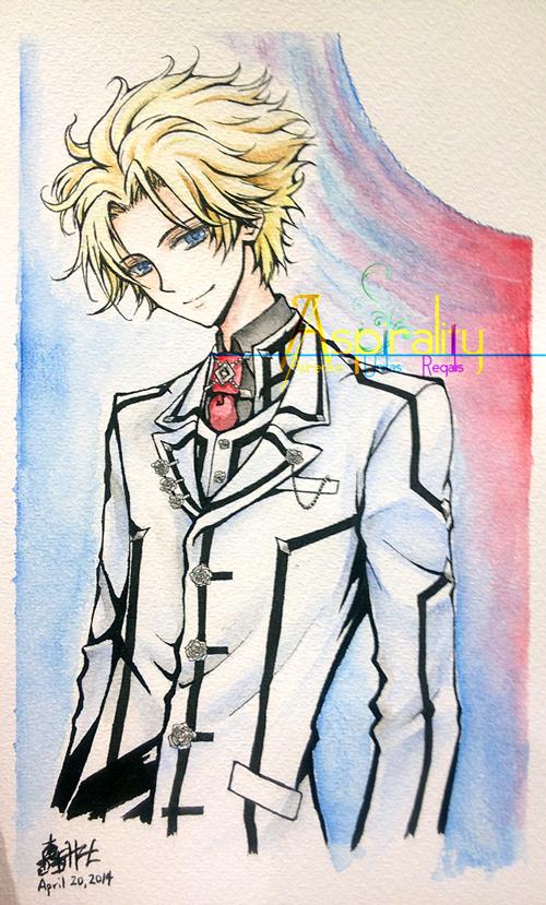 Vampire Knight Aidou commission by Nobu-Hazel