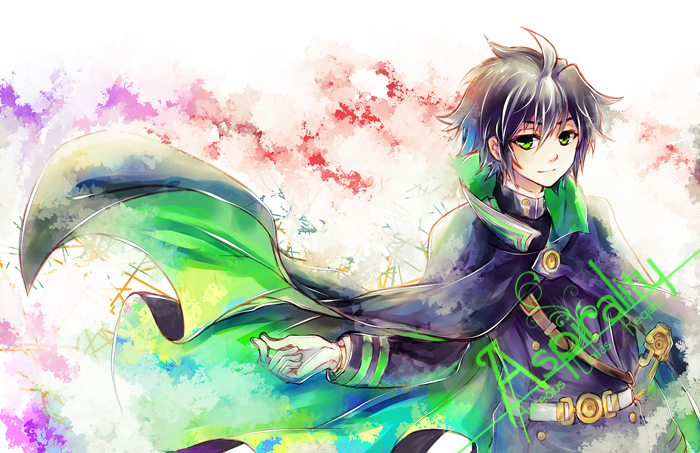 Owari No Seraph Yu By Nobu Hazel On Deviantart One day, a mysterious virus appeared on earth which killed every infected human over the age of 13. owari no seraph yu by nobu hazel on