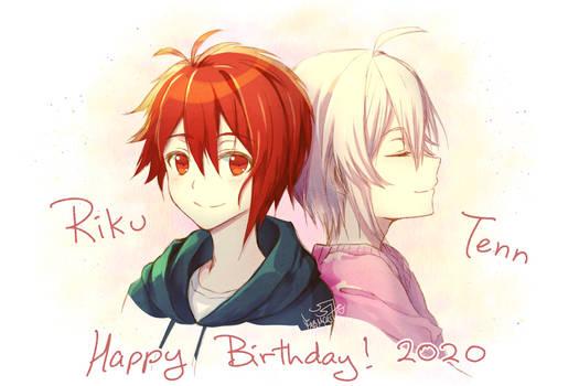 Happy birthday Tenn and Riku 2020