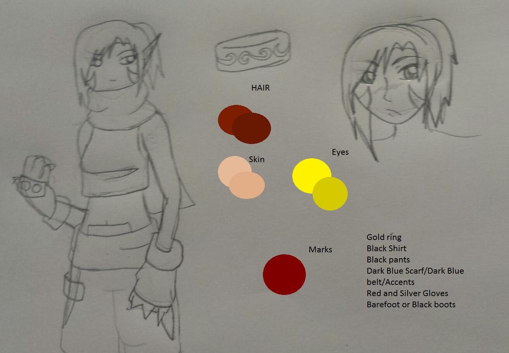 Ryo Saiyuki Color Ref by Ryoko-Shonen