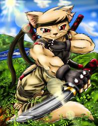 Shinob-Kitty by saikyoryuuougi