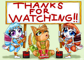 Thanks For Watching by saikyoryuuougi