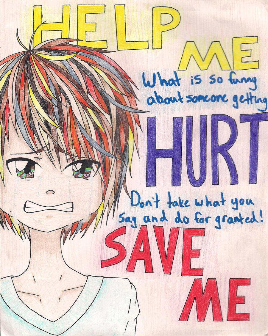 Anti Bully Quotes Antibully Postercocodragon8 On Deviantart