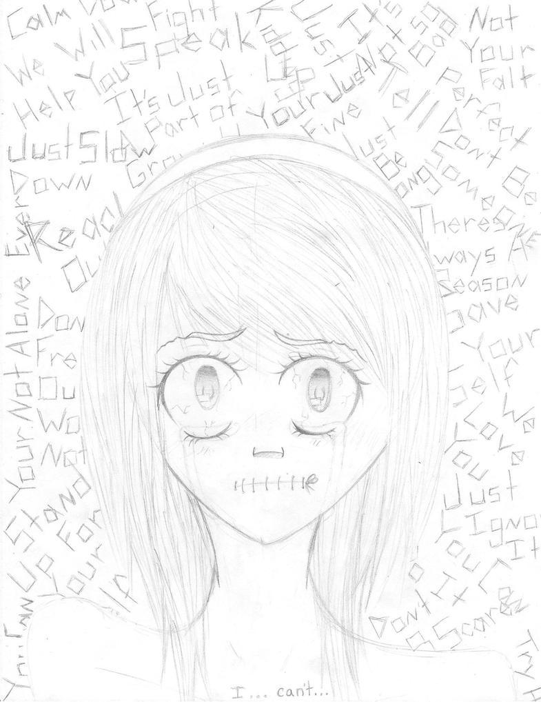 Anti-Bullying Sketch by Cocodragon8