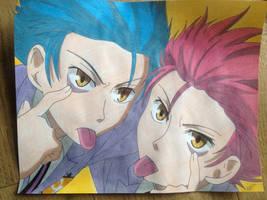 Hitachiin Twins by Karina-o-e