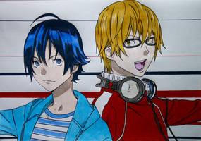 Mashiro and Takagi