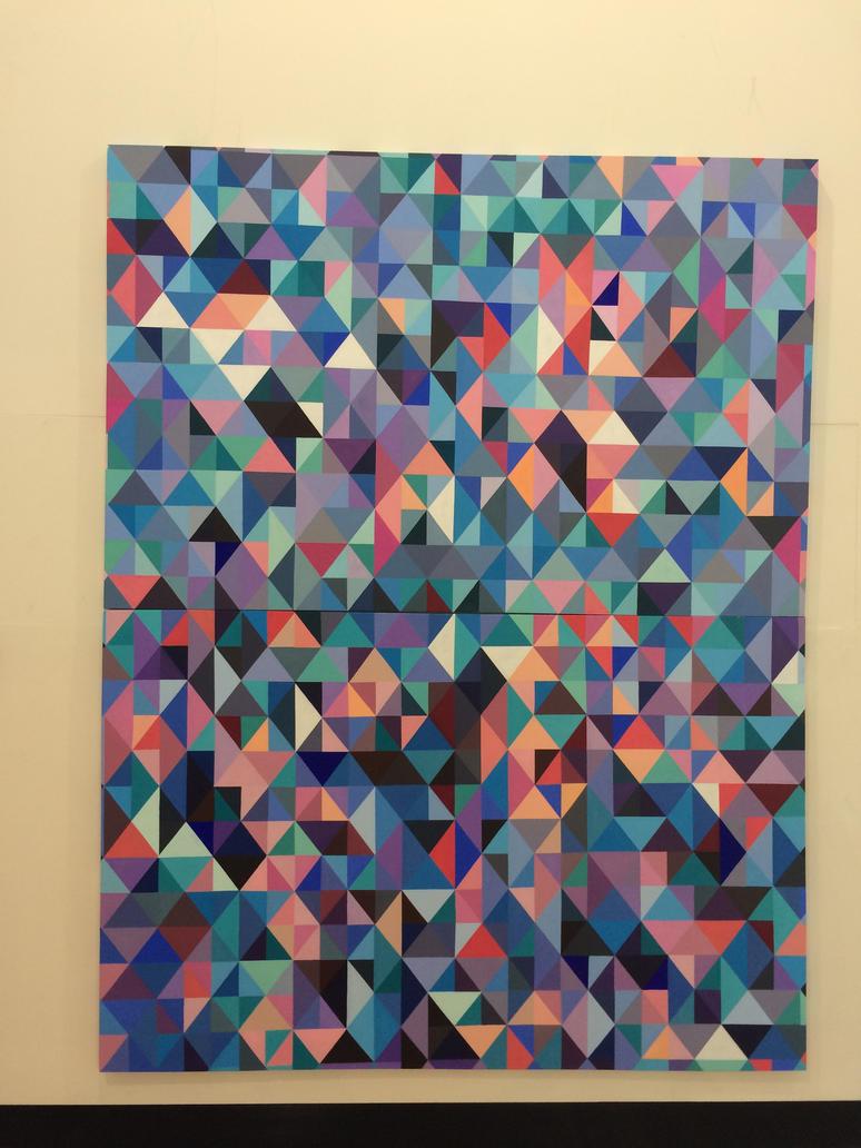 Lots of Triangles by Karina-o-e