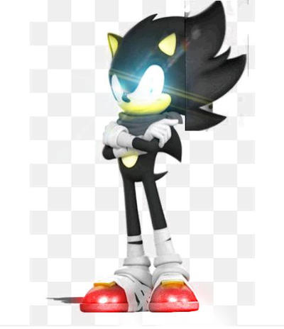 Dark Super Sonic Boom Sonic By Leongamer59 On Deviantart