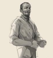 Rough sketch - Guerrillero by Ramonn90