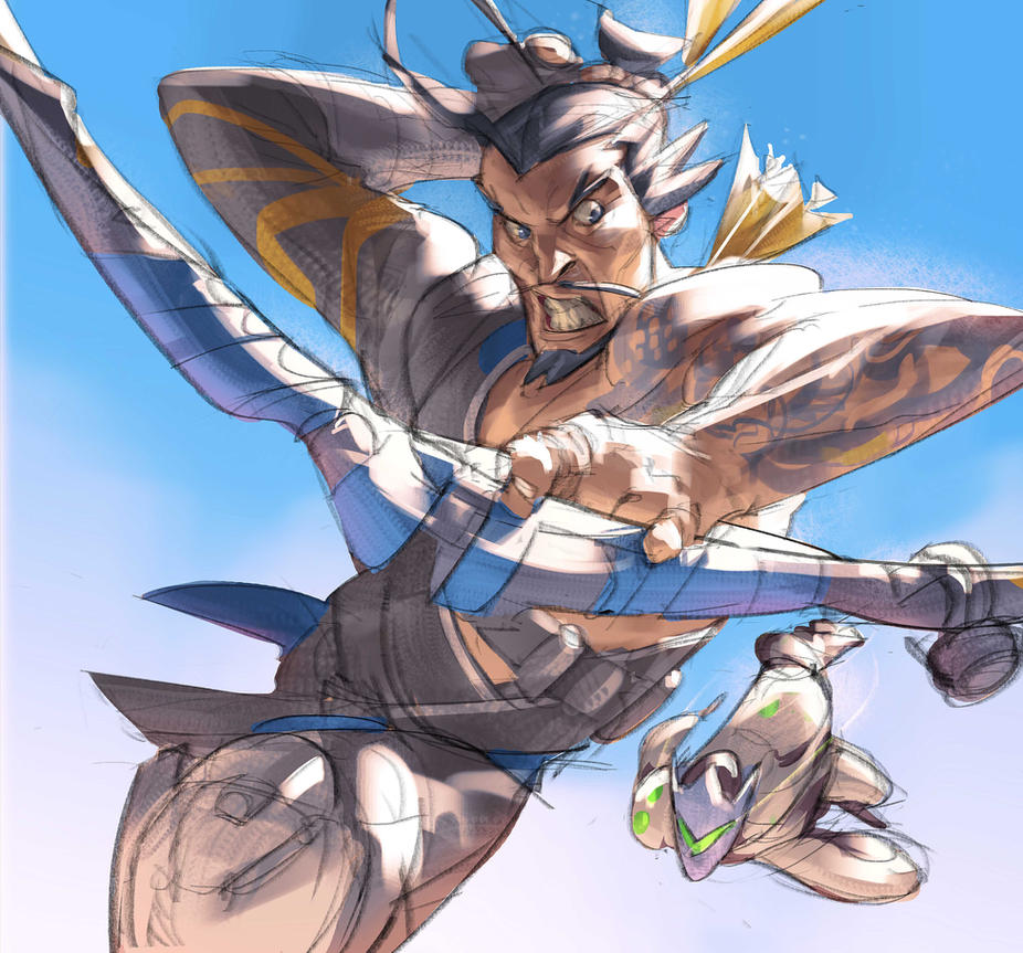 Hanzo Wallpaper: Hanzo And Genji! By Ramonn90 On DeviantArt