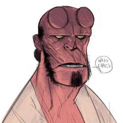 Hellboy by Ramonn90