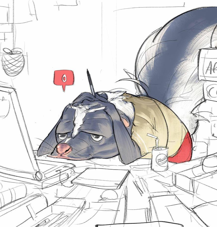 Skunks don't always stink by Ramonn90