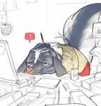 Skunks don't always stink