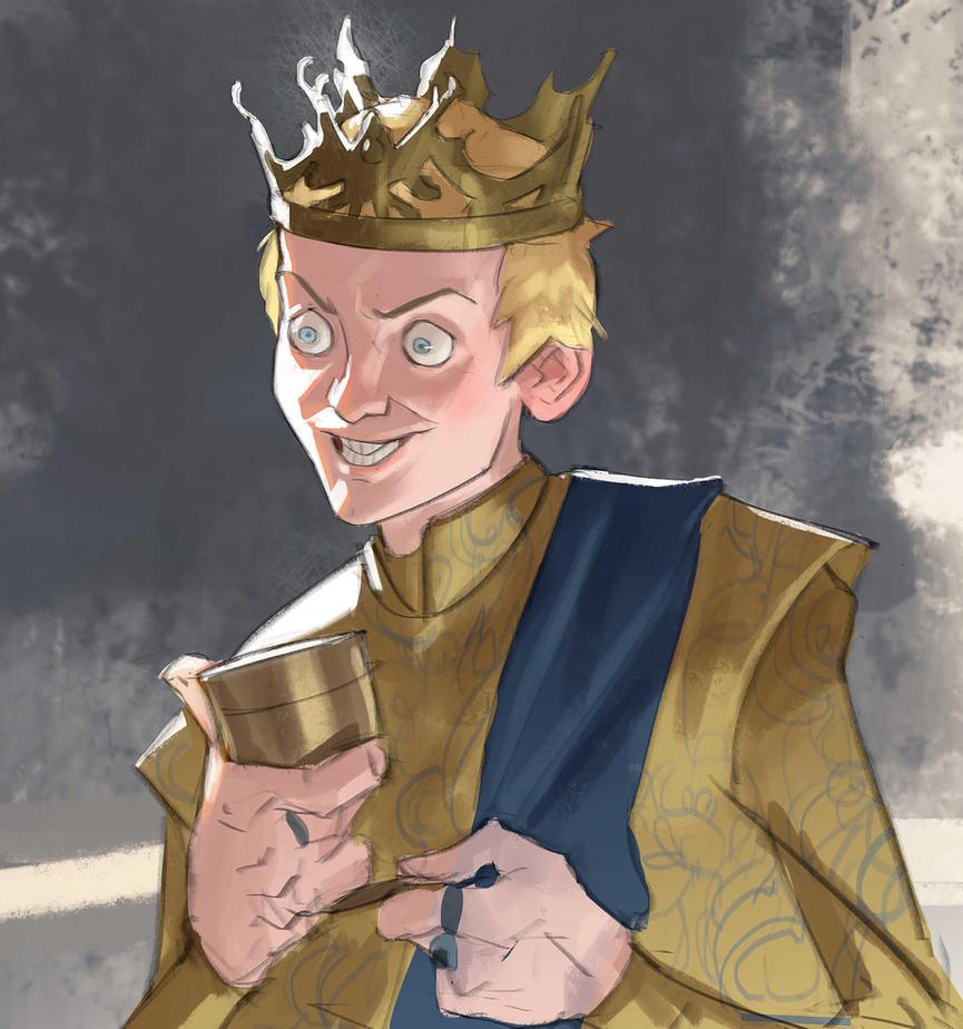 Game Of Thrones Characters By Ramon Nuñez: Joffrey By Ramonn90 On DeviantArt