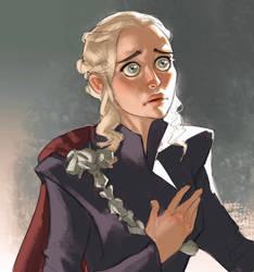 Daenerys Targaryen by Ramonn90
