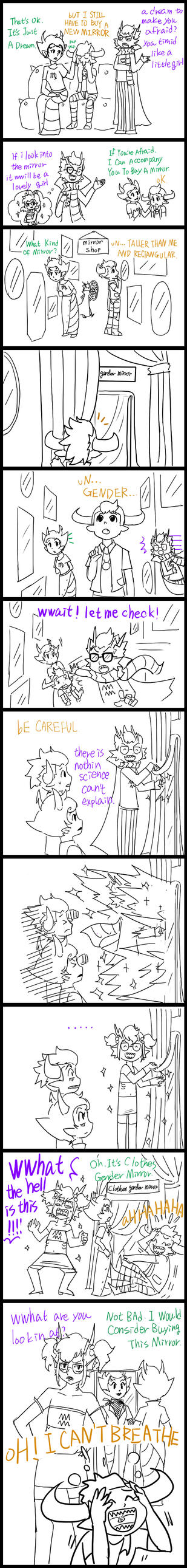 Tavros and Gender Mirror II? by salihombox