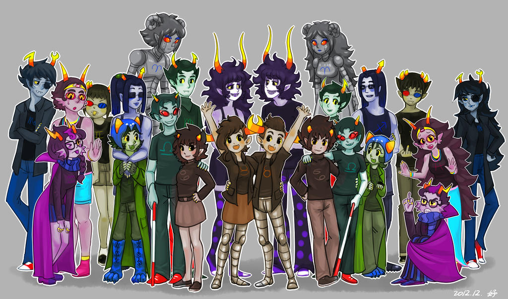 Homestuck by salihombo...