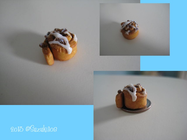 Mini Cinnamon Roll by Suzuki108