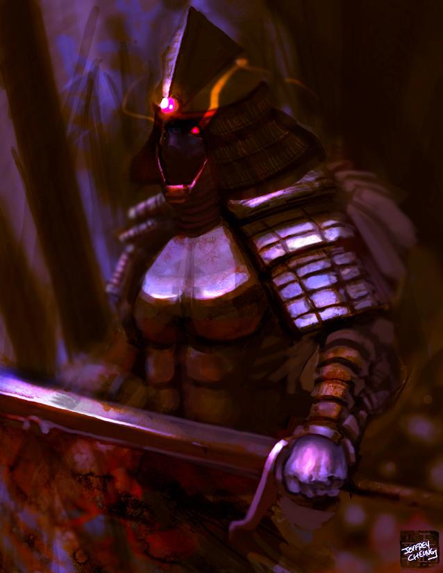 Dark Samurai by JJH