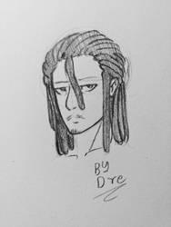 This Ugly Mug-Looking Dude by LoverofArtwork