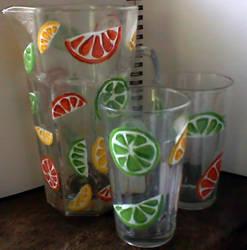 Summer Citrus Drink Set by aheria