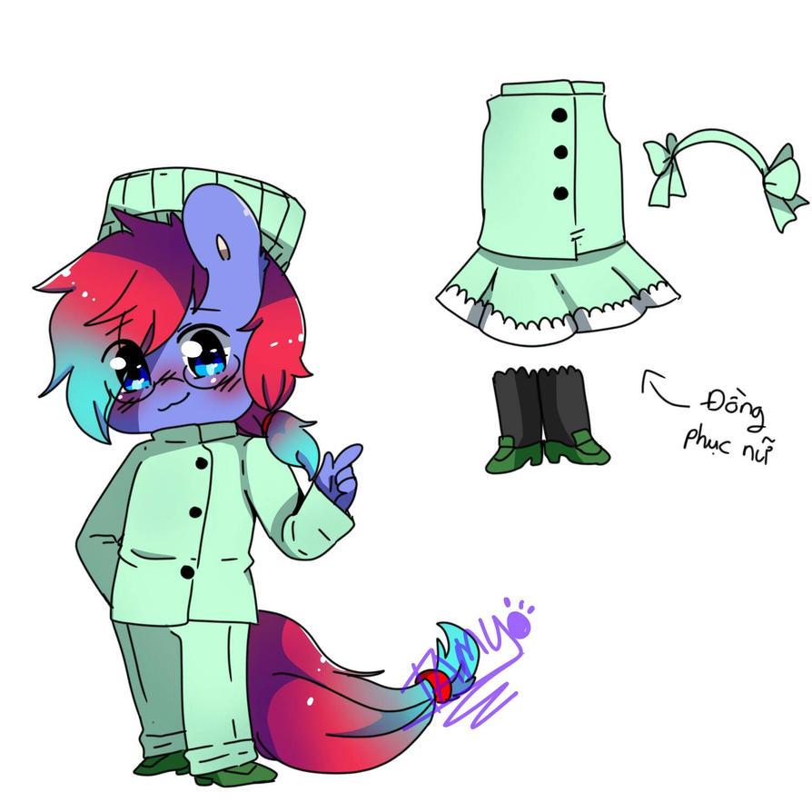Chef costume by FattoDoggo