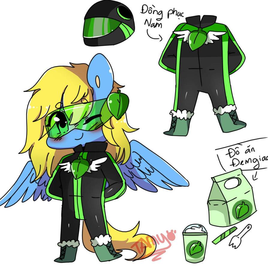 delivery costume by FattoDoggo