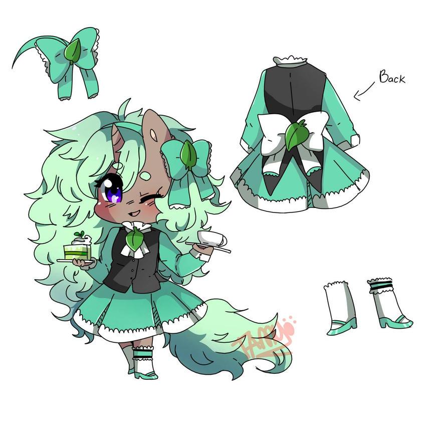 cute lil service costume~ 3 by FattoDoggo