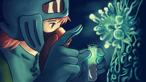 Nausicaa- The Toxic Jungle by TheeOtherOne