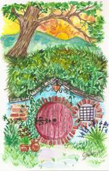 Hobbit House #4 by Jerzee-Girl