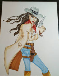 The Lady Gunslinger