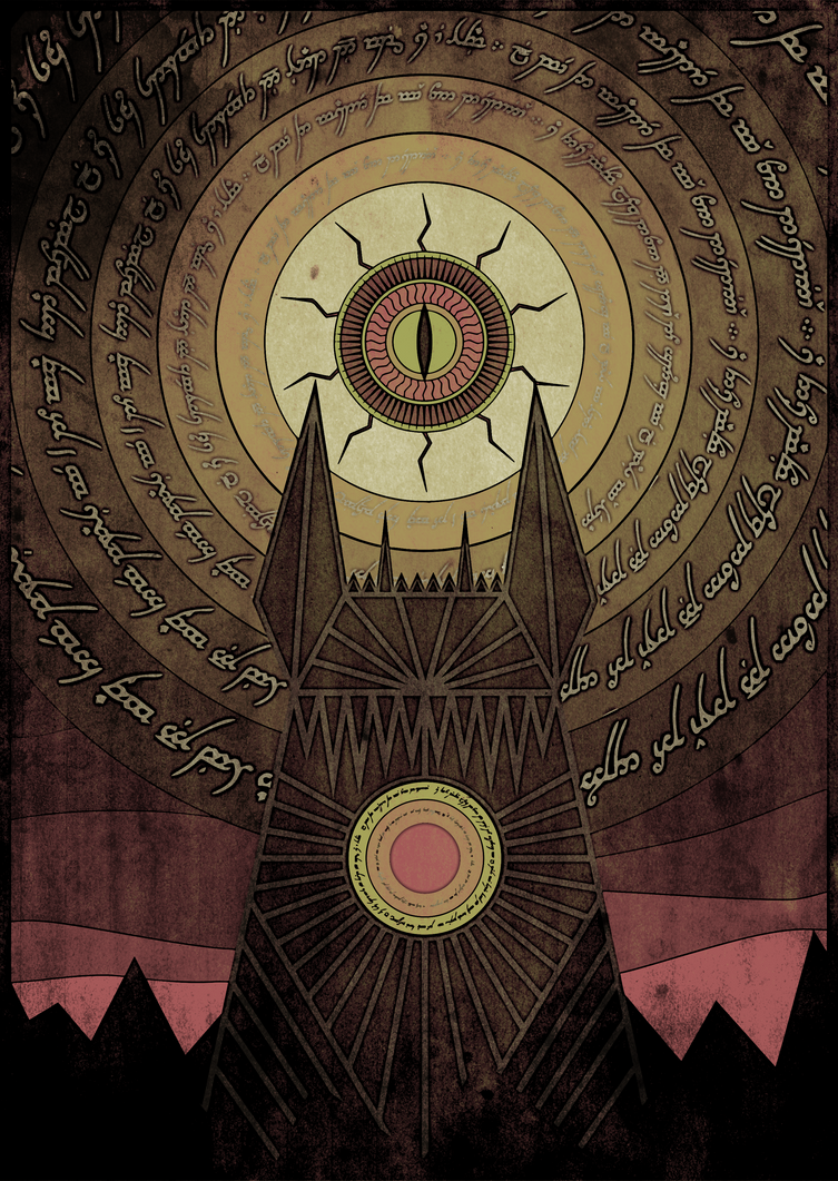 The Eye of the Sauron by vitomysl on DeviantArt