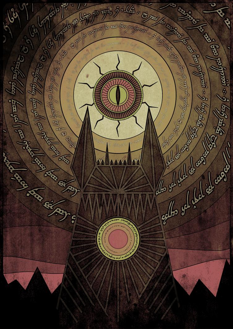 The Eye of the Sauron by vitomysl on DeviantArt