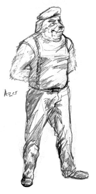 Lt. Col. Azer Biggs by Pyrosity